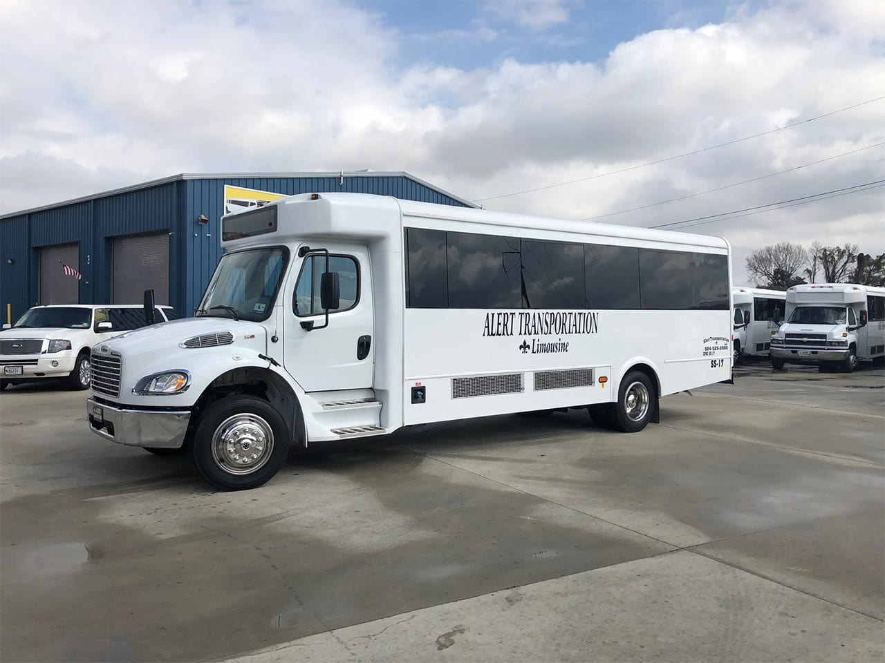 29 passenger minibus