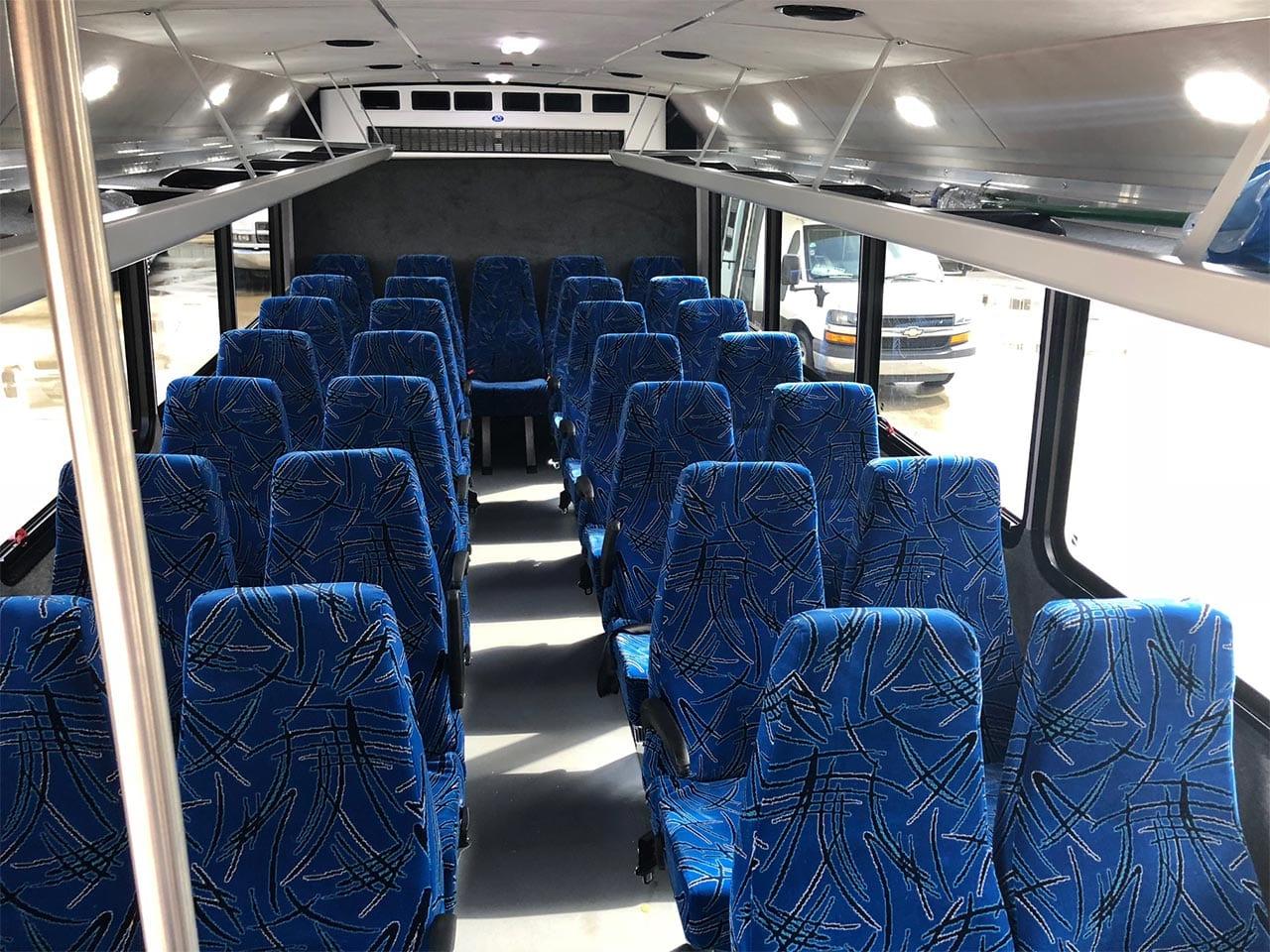 29 passenger minibus seats