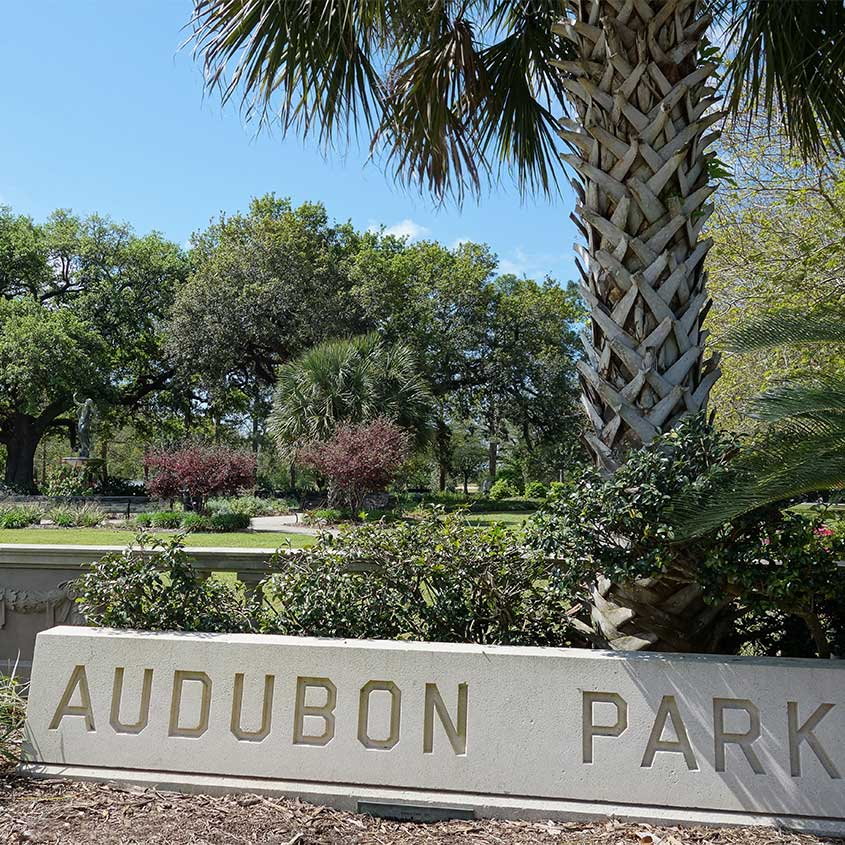 Audubon Park Uptown New Orleans